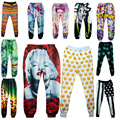 New fashion men/women's basic legging pants 3D print 2pac clothes 3d emoji cartoon joggers pants casual sweatpants trousers