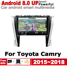 ZaiXi HD IPS Screen DSP Stereo Android Car DVD GPS Navi Map For Toyota Camry 2015~2018 2 DIN multimedia player radio WiFi system yessun car android player multimedia for toyota fj cruiser radio stereo gps map nav navi navigation no cd dvd 10 hd screen