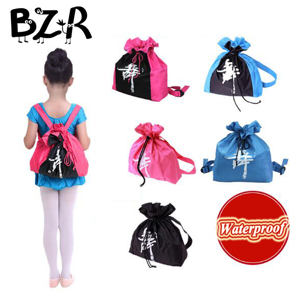 Bazzery ballet bags for girls ballet dance bag Backpacks for dancing stage performance 6 colors Gym Bags For Child Girls