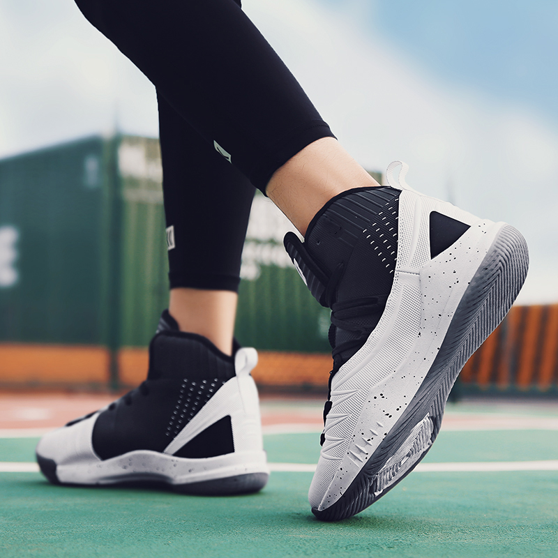 Size 39 45 Ankle Sport Shoes Men Basketball Shoes Athletic Shoes Outdoor Sneakers Calzado De Baloncesto Masculino Basket Homme