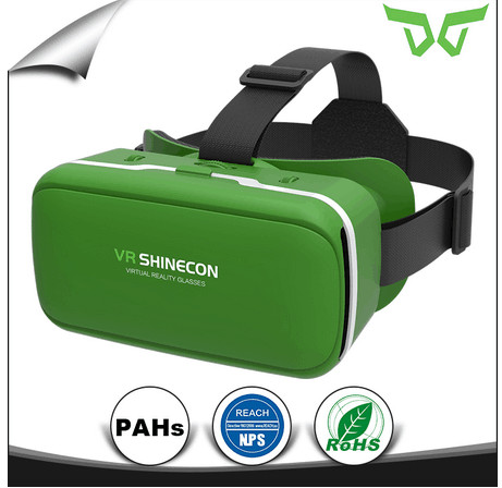 The original manufacturer of VR Shinecon VR 360 Viewing Immersive Virtual Reality 3D VR Headset Google Cardboard Games Glasses