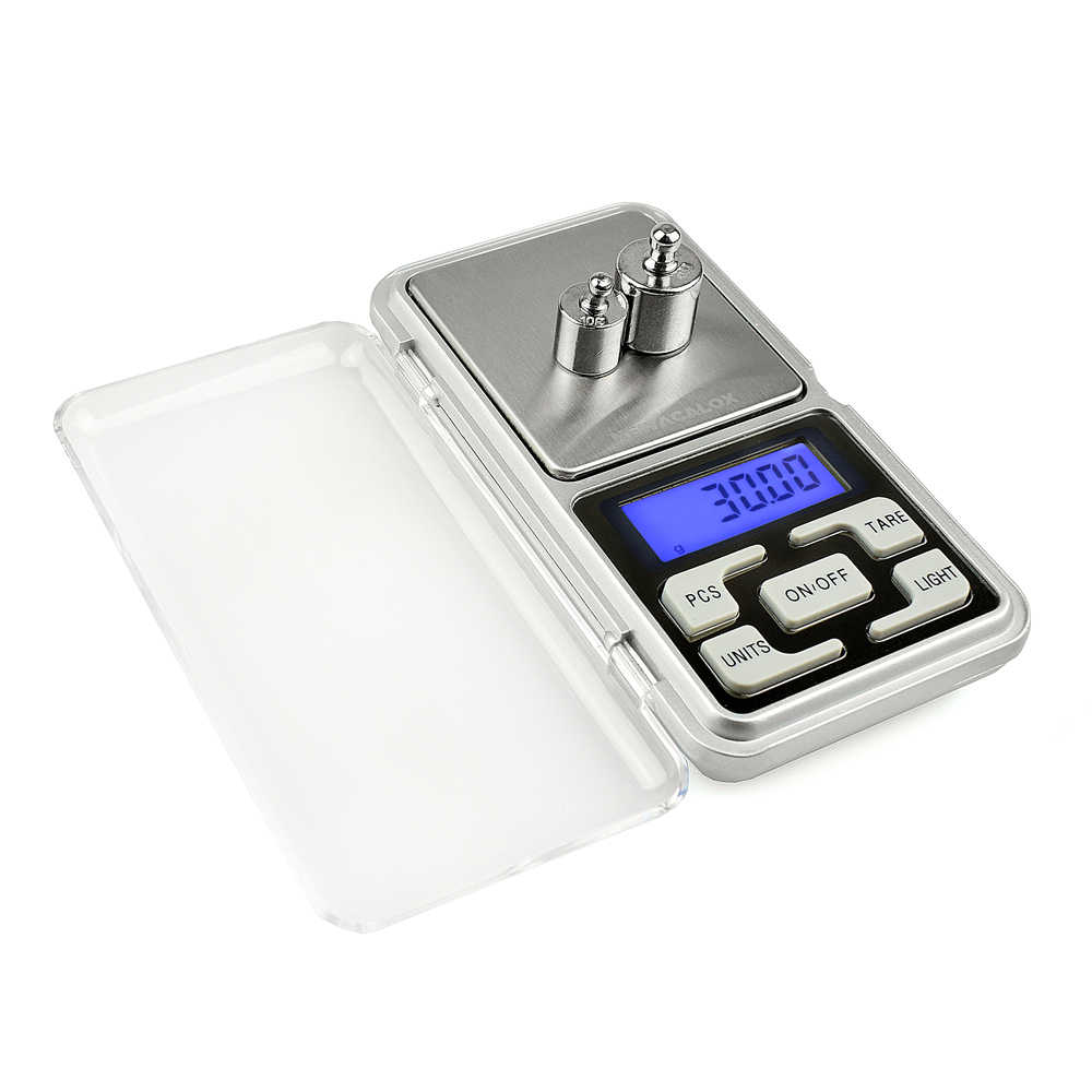 NEWACALOX 0,01 г Г x 200 г мини точность цифровые весы для золота Bijoux стерлингового серебра весы ювелирные изделия 0,01 вес электронные детские весы