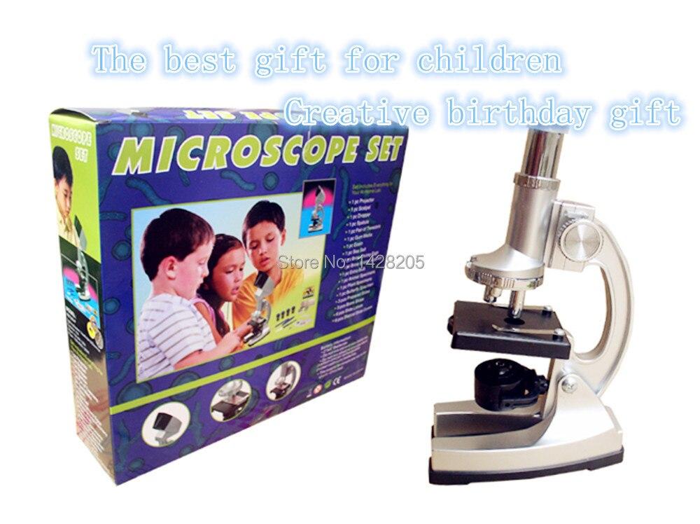 1200x studenten kinder biologische mikroskop kit wissenschaft