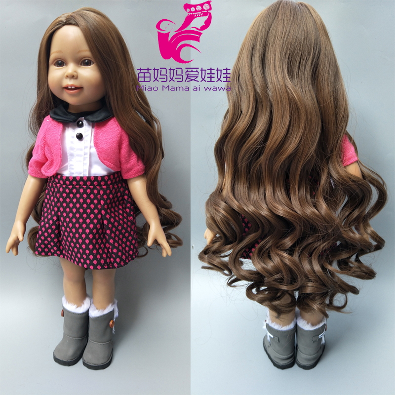 25-28cm Head Blonde Brown Doll hair for Handmade Doll, Hair for homemade cloth Toy DIY Dolls 18 inch doll long hair repair crystal long tassel zanhuaji vintage classical hair stick for tv play legend of chinese empress wumeiniang handmade hair sticks