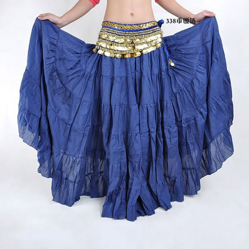270 Degrees Hot Fashion Tribal Bohemian Long Skirt Swing Gypsy Skirts Women Belly Dance Ballroom Costume Full Circle Dress