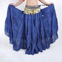 270 درجة حار موضة القبلية البوهيمي تنورة طويلة سوينغ الغجر التنانير النساء الرقص الشرقي قاعة الرقص زي كامل دائرة فستان