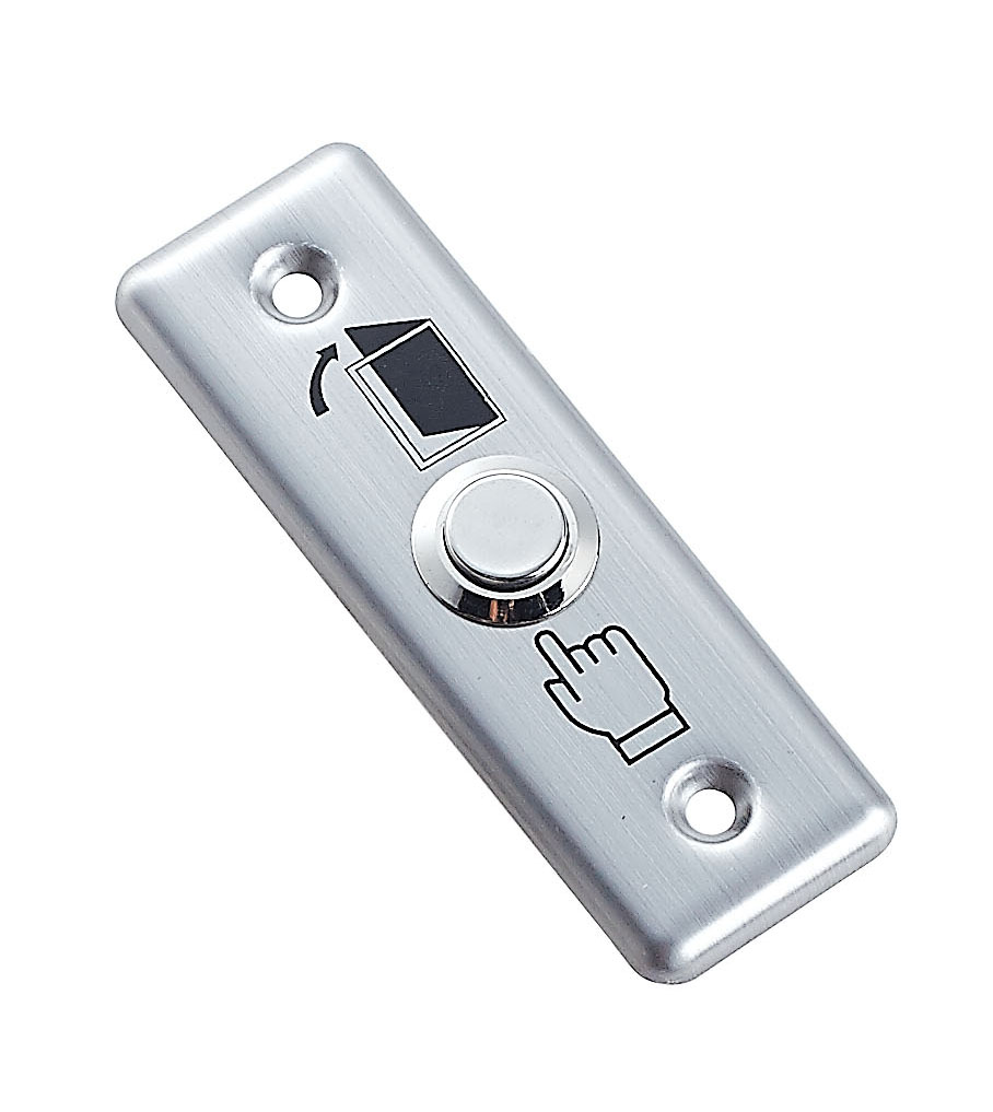 Stainless Steel Door Exit Button Switch Panel For Access Control System
