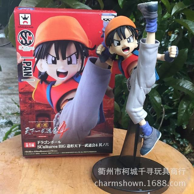 15 cm SCultures BIG Pan Dragon Ball Z figura de ação PVC coleção brinquedos brinquedos para presente de natal Collectible com caixa de varejo