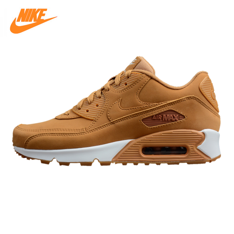 Nike Air Max 90 Essential Men's Running Shoes,Outdoor Sneakers Shoes, Yellow, Shock-absorbing Non-slip Wrapping Warmth 881105