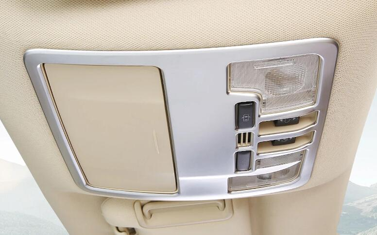 Chrome Reading Lamp Cover Trims For Toyota Highlander 2014 2015 2016
