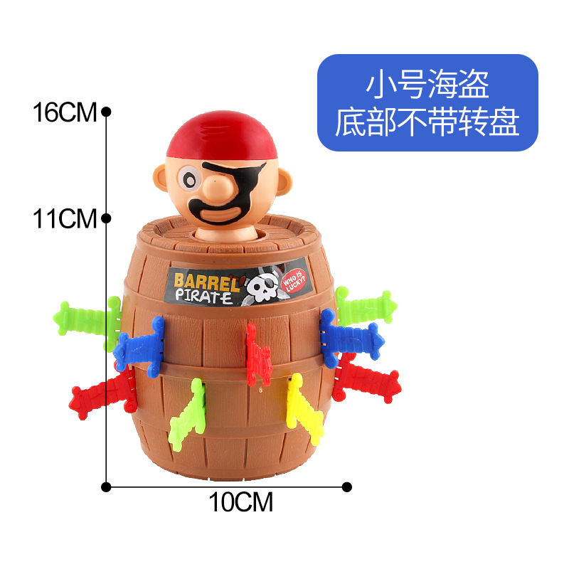 Pirate Bucket Barrel Games Lucky Stab Pop Up Toys Tricky Child Board Game Toys Jokes Gifts Autism Funny Anti Stress Prank 3