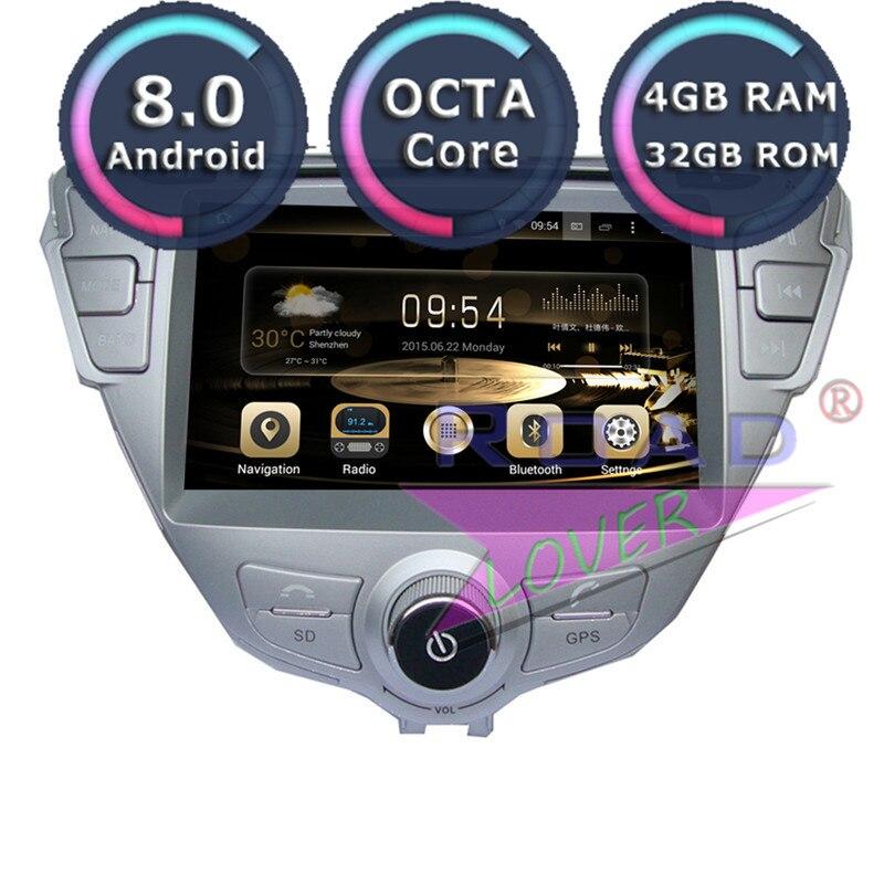 Roadlover Android 8,0 Автомобильный мультимедийный dvd плеер радио для Hyundai Elantra MD 2011 Стерео gps навигация Automagnitol двойной Din
