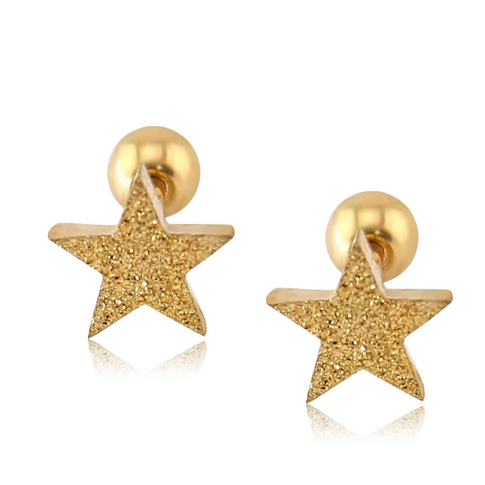 95ce383aa Detail Feedback Questions about Star Shaped Stud Earrings 2Pc Italina New  Trendy Fancy Latest Design Star Design Stud Earring For Women/girl Men  Fashion ...