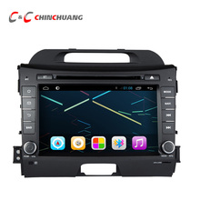 updated ! Android 8.1 Octa Core T8 2G RAM + 32G ROM Car DVD Player for KIA Sportage 2010-2015 with Radio GPS Navigation DVR Wifi