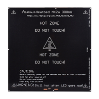 Bigger 2015 MK2A 300 300 3 0mm RepRap RAMPS 1 4 PCB Aluminum Heatbed Hot Plate