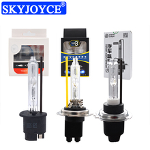 Skyjoyce lâmpada hid 4300k 4500k 5500k, 6500k, 6000k, h1 lâmpada de farol de carro h11 h3 hb3 hb4 d2h h7