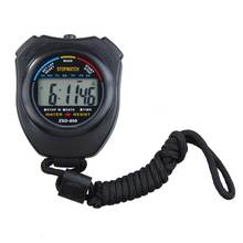 Stopwatch-Counter Running-Timer Chronograph Digital Sports New with Strap High-Quality