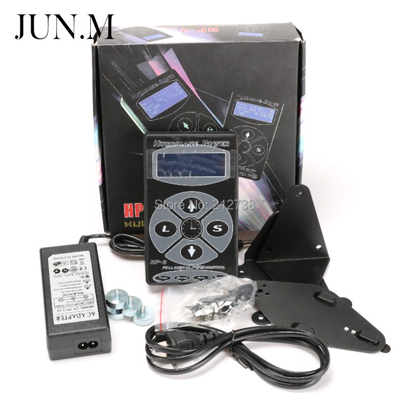 Free Shipping Professional Tattoo Power Supply HP-2 Powe Supply Digital Dual LCD Display Tattoo Power Supply Machines