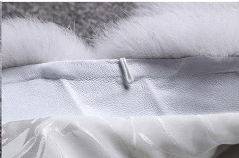 Manteau rose Haute Gilet Réel Green Qualité Hiver Renard blanc De kaki Véritable Épaisse dark gris Fourrure bourgogne Femmes Pour Naturel Sans Manches Wisstt rouge Bleu Royal 4ZwdfqZ