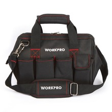 Tools - Tools Packaging - WORKPRO 12 Inch Tool Bag 600D Polyester Electrician Shoulder Bag Tool Kits Bag