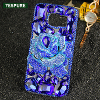 YESPURE Crystal Diamond Bling Gliter 3D Case Fancy Phone Cover For Samsung Galaxy S7 Edge 5