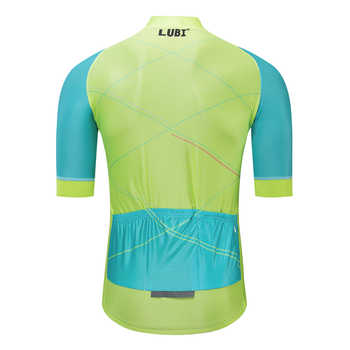 LUBI 2019 ฤดูร้อนสั้นแขน Pro ขี่จักรยานภูเขาเสื้อผ้าจักรยาน Maillot Ropa Ciclismo แข่งจักรยานเสื้อผ้าเสื้อ