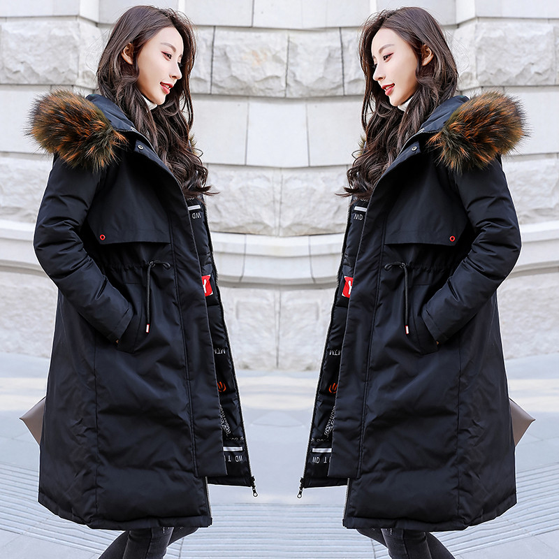 Women Winter Cotton Jacket Thicken Hooded  Ladies Parkas Loose Lady Overcoat Ms Large Size Coat Female Warm Long Outerwear Vs021