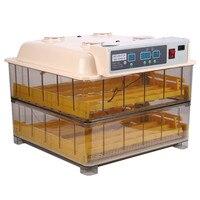 96 Eggs Incubator Digital Temperature Hatchery Machine Hatcher For Hatching Chickens Ducks Poultry Quails Parrots Pigeons