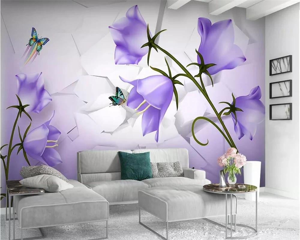 home decoration mural 3d wallpaper ...