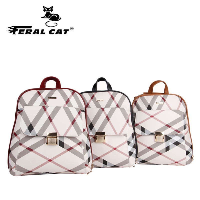 Women Backpack For College Female School-Style Casual Bag Simple-Design Mochila Famous
