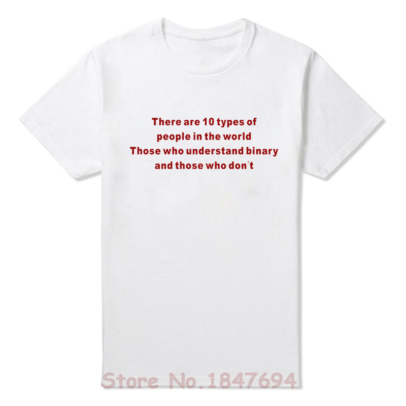 3f6f80eb661d Summer New Understand Binary Funny Web Developer T Shirts Short Sleeve O  Neck Fashion Cotton Male T shirts-in T-Shirts from Men s Clothing on  Aliexpress.com ...