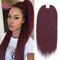 """Promoción grande Ombre Jumbo Hair Braiding 18 """"30 Strands 75 g/pack Synthiec Crochet Trenzas Xpression Pelo Ombre Extensiones de Cabello"""