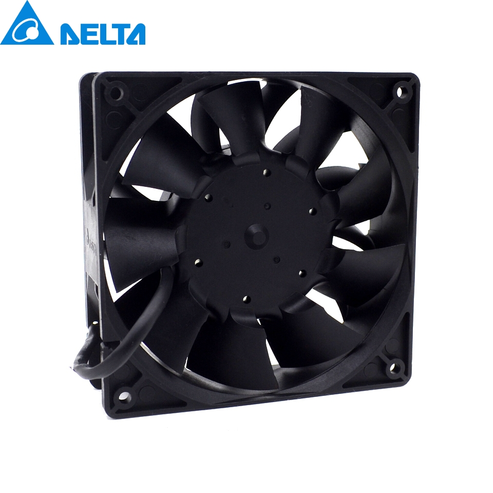 2pcs New power motorcycle conversion motorcycle fan violence 12CM fan 3.9A 12v TFC1212DE 120*120*38mm