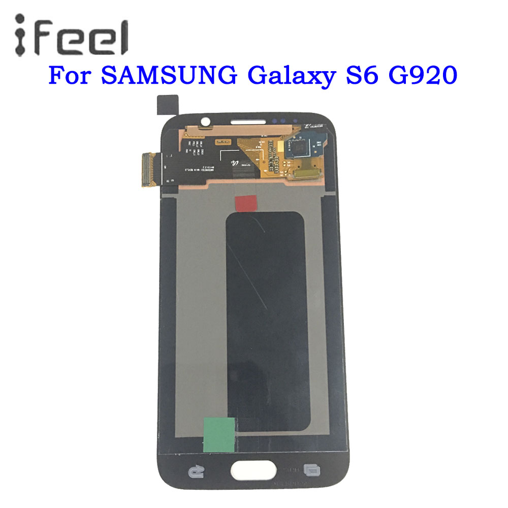 Samsung Galaxy S6 G920 G920A Display LCD Touch Screen Digitizer Assembly White