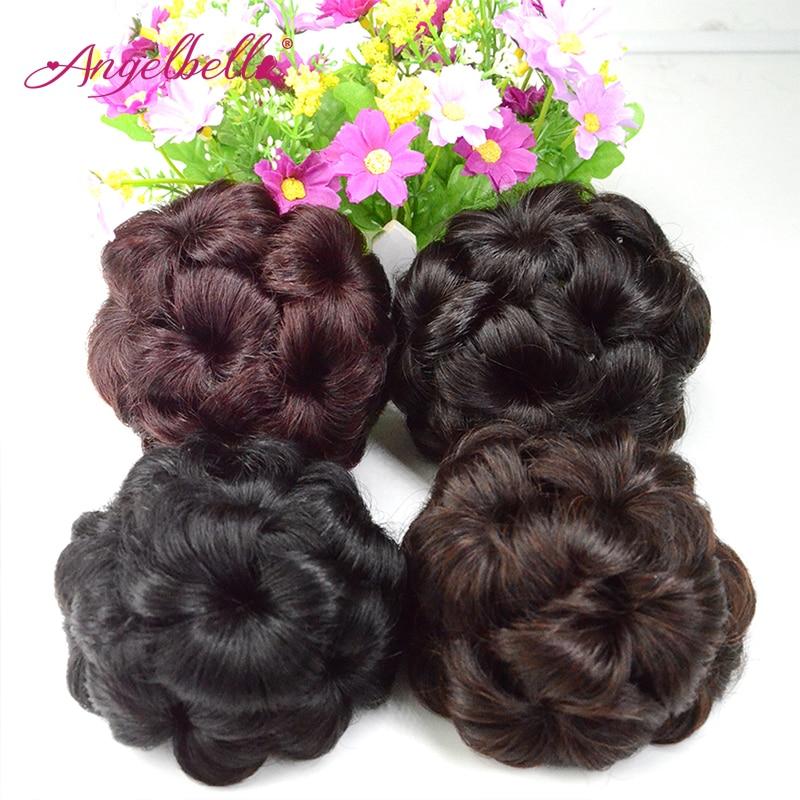 angelbella hairpiece bun chignon