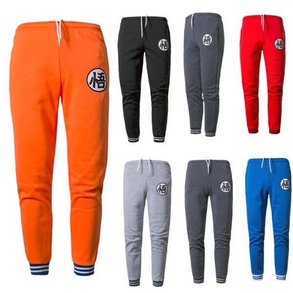 Zogaa 2019 Hot Casual Funny Print Goku Mens Pants Cotton Spring Autumn Men Joggers Sweatpants Trouser Pantalon