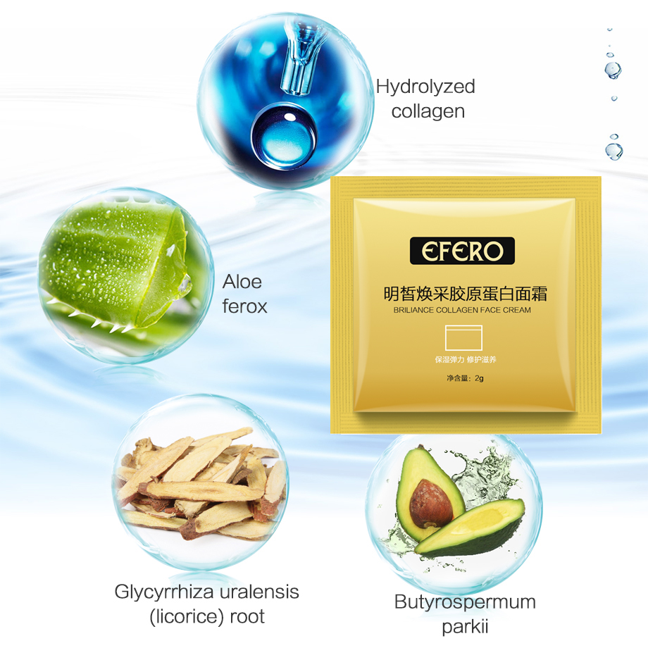 5/10/15/18pack Collagen Hyaluronic Acid Essence Serum for Face Cream Whitening Skin Care Anti Aging Lifting Firming Anti Wrinkle