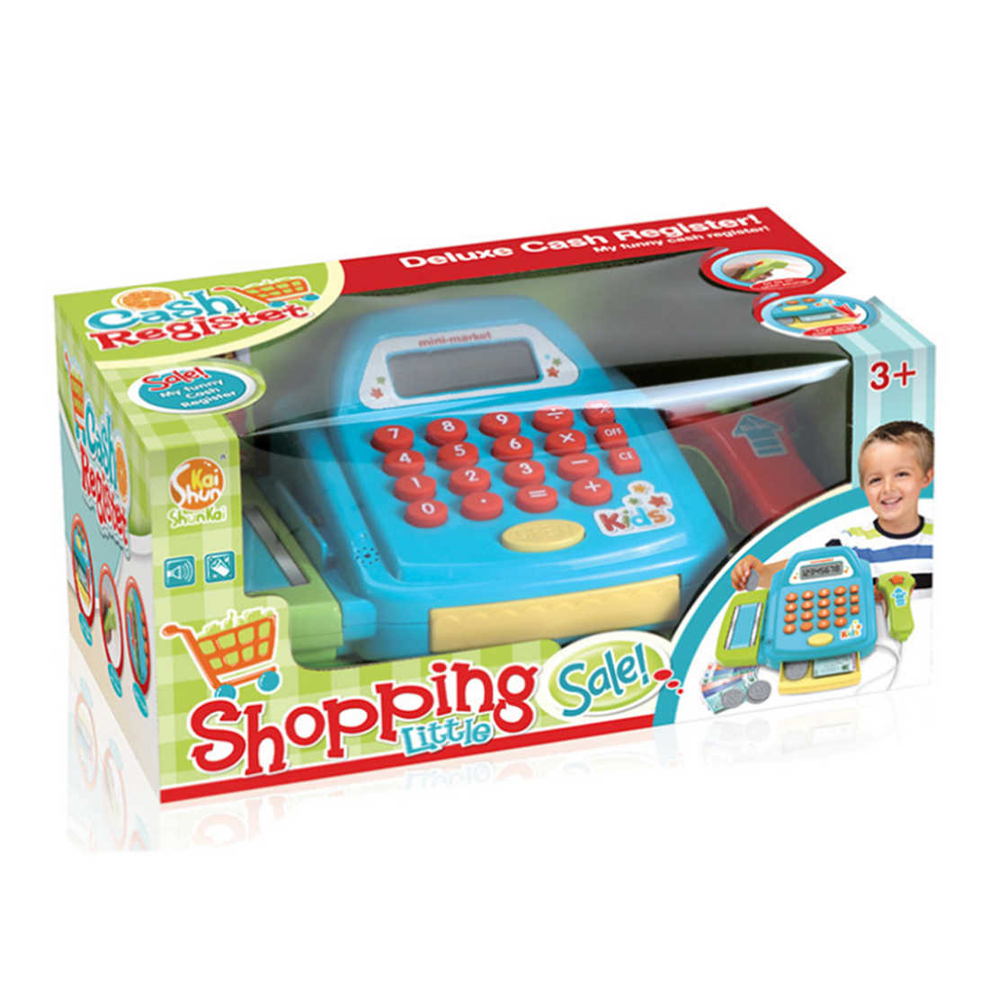 Detail Feedback Questions About Funny Pretend Play Cash Register