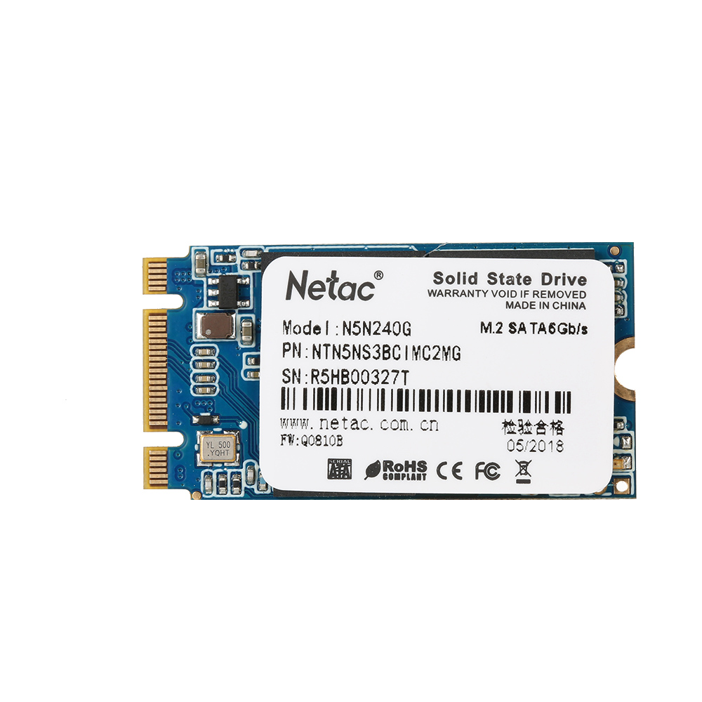 Netac N5N Solid State Drive SSD Hard Disk Drive M.2 2242 HDD SATA 3.0 High Speed SSD 120G Computer Storage Accessories цена