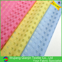 New Arrival 17 Colors Fashionable Polyester Silk Organza Fabric
