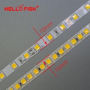 Image 3 - LED Strip Light LED tape backlight 12V 5m 600 LED 5054 300 LED strip kitchen white warm white