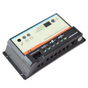 Image 3 - EPever 20A 10A Çift Pil güneş şarj kontrol cihazı 12 V 24 V Yüksek verimli PWM Şarj Regülatörü Opt Uzaktan Ekran MT 1 Sıcaklık kablo