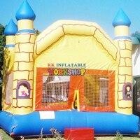 Children's Fairy Tale Castle Park inflatable amusement park for sale