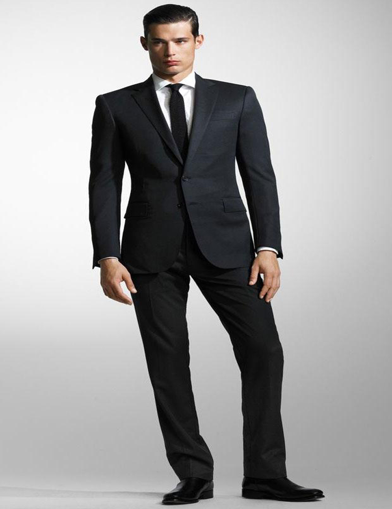 Cheap Black Mens Suits - Hardon Clothes