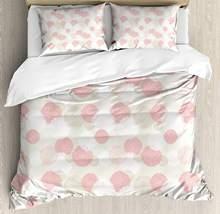 ffb979df6d Tons Pastel Set Capa de Edredão Macio Primavera Floral Motivo com Pétalas  de Flores de Peônia Imagem Elegância