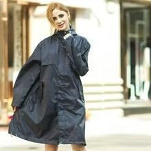 Long Hooded Raincoats Rainwear women breathable portable ultralight windproof waterproof travel rain poncho coat chubasquero
