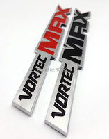 Car Styling Chrome ABS OEM Vortec MAX Emblem Badge Stickers For Chevrolet 06 09 Silverado Truck