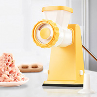 Manual Household Meat Grinder Vegetables Chopper Mincing Machine Multifunction Food Processor Sausage Stuffer Kitchen Tool