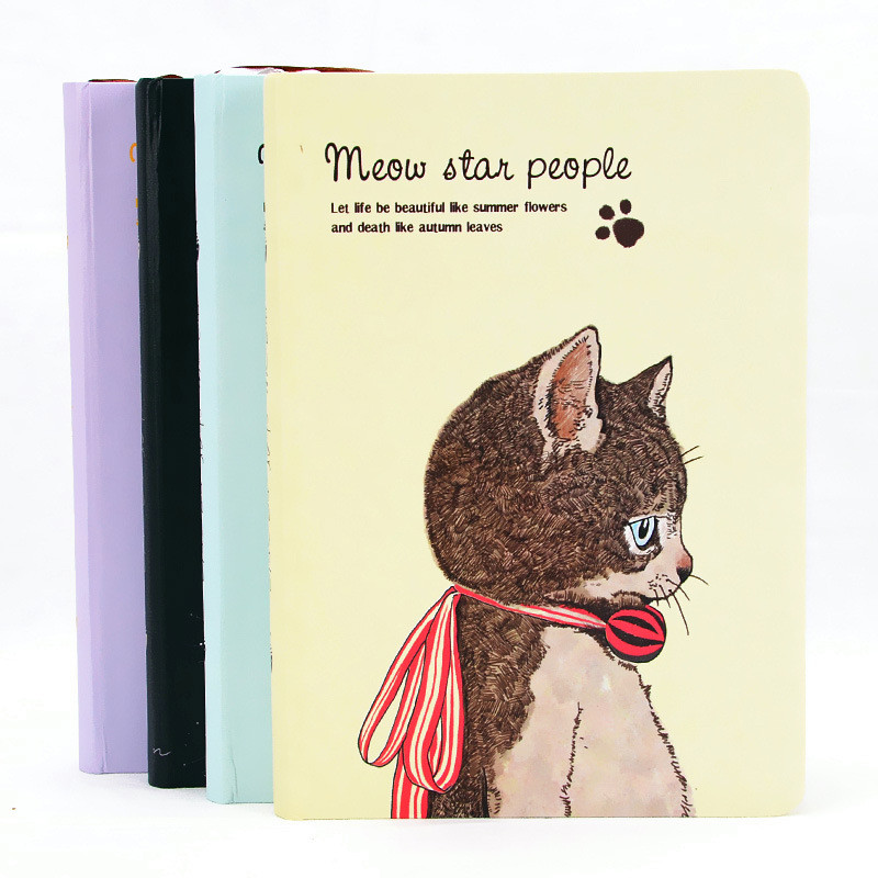 Korean Style Cute Animal Cat Kawaii Diary Notebook Diary For Students School and Office Supplies point systems migration policy and international students flow
