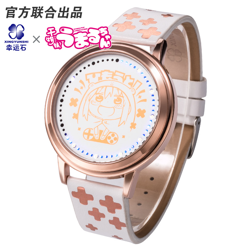 2017 New Arrival HOT Anime HIMOUTO UMARU CHAN LED Waterproof Touch Screen Watch Women Wrist Watch Comics Cartoon Birthday Gift japan anime himouto umaru chan wallet doma umaru cosplay coin card women men bifold purse